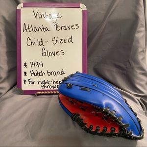Vintage Atlanta Braves Child-Size Glove